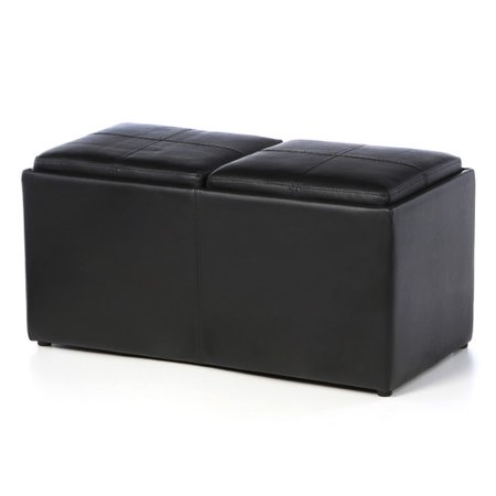 Excellent Woodhaven Hill Claire Storage Ottoman Caraccident5 Cool Chair Designs And Ideas Caraccident5Info