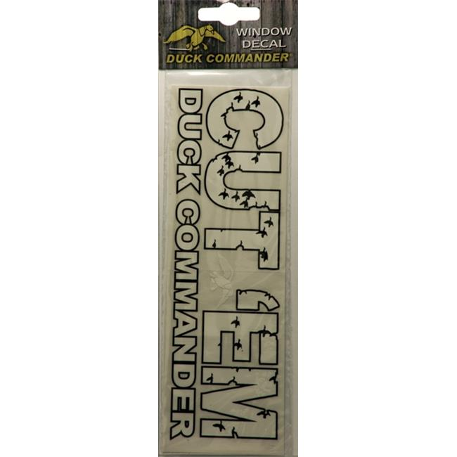 Duck Commander DC-CUT-DC New Cut Em Window Decal
