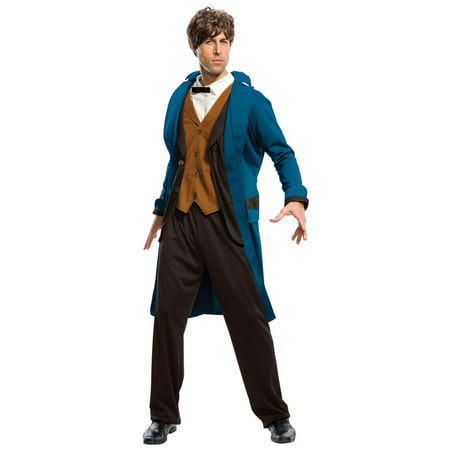 Fantastic Beasts and Where to Find Them - Newt Deluxe Adult Costume - Fantastic 4 Costumes