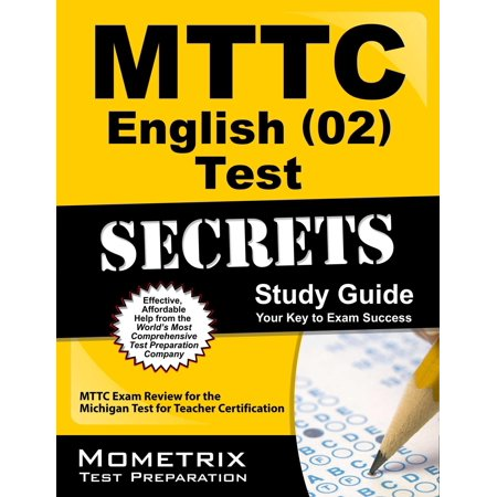 Mttc English (02) Test Secrets Study Guide : Mttc Exam Review for ...