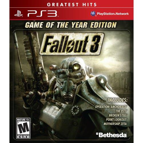 Bethesda Fallout 3 Game Of The Year Edition - Playstation 3 (ps3bet12968)