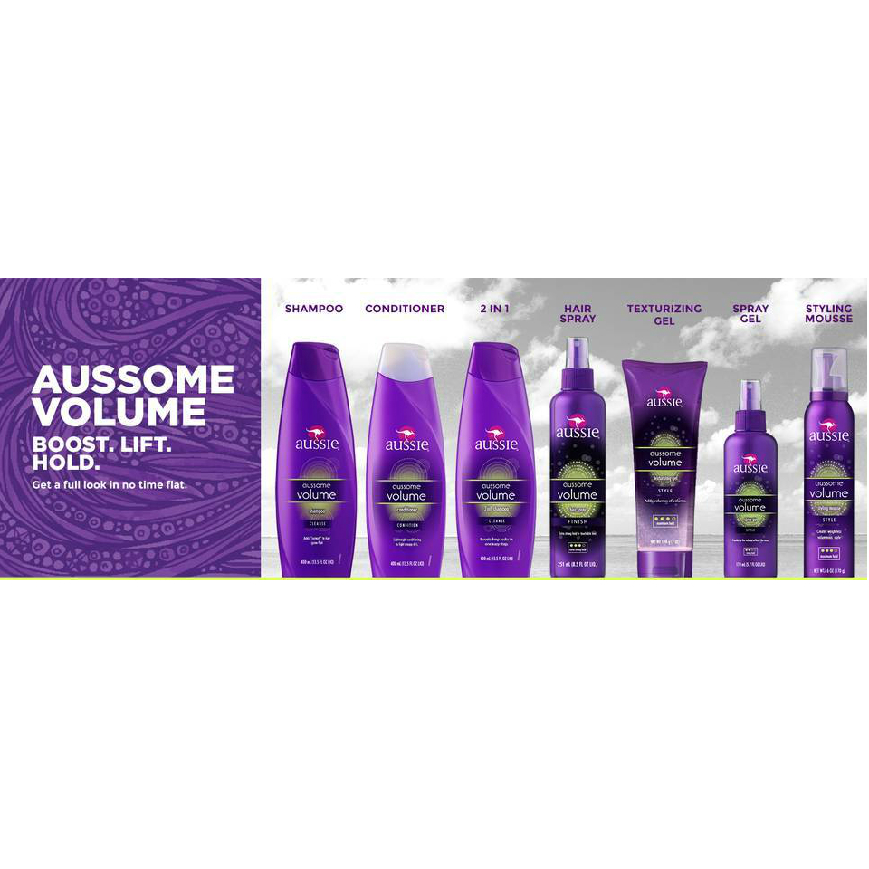 Aussie Aussome Volume Hair Care Collection