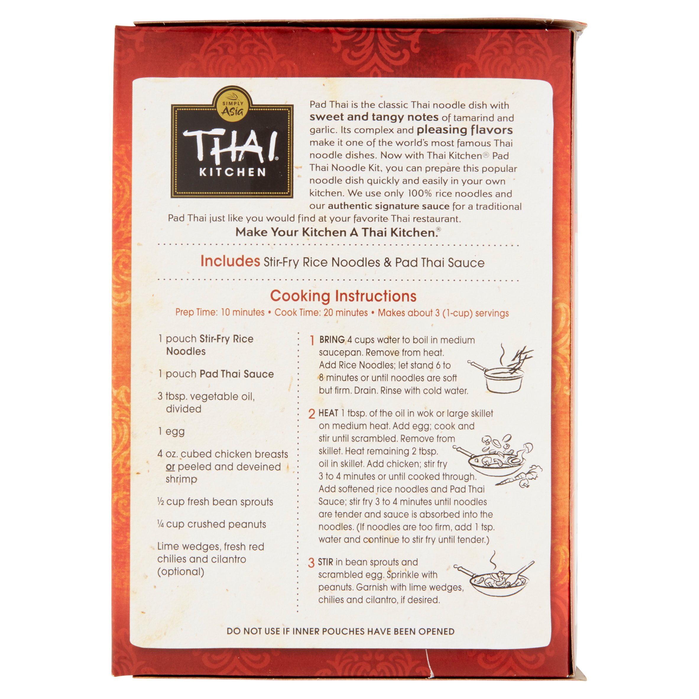 Thai Kitchen Noodles Thai Kitchen Gluten Free Original Pad Thai Stir Fry Noodles 9 Oz