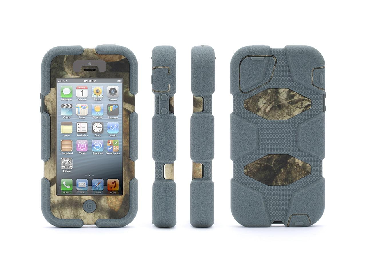 Griffin IPhone 5/5s, IPhone SE Rugged Case, Survivor All Terrain Mossy Oak  Camo, Heavy Duty Case In Mossy Oak Camo Direct From Griffin   Walmart.com