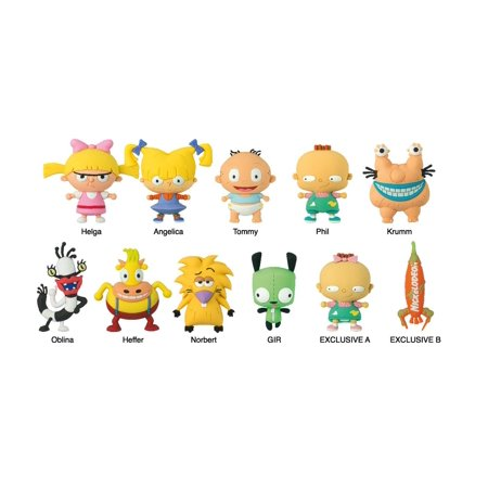 Key Chain - Nickelodeon - Series 2 3D Collectible PVC Figural New Licensed 63240