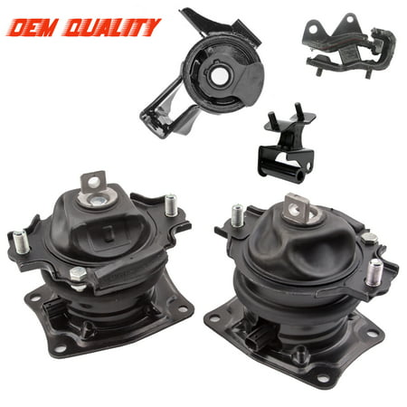 Fits: 2007 Honda Odyssey 3.5L Touring / EX-L Engine Motor & Trans Mount Set 5PCS 65026EL 4583 4555 4558 4557 ()