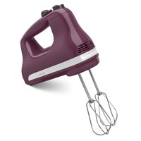 KitchenAid 5-Speed Ultra Power Hand Mixer, Boysenberry (KHM512BY) - Closeout