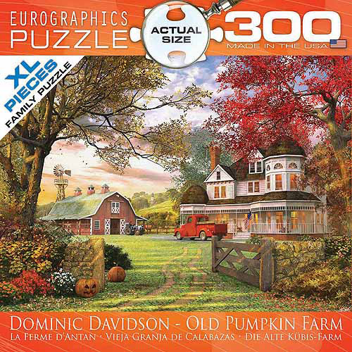 EuroGraphics Old Pumpkin Farm 300-Piece Puzzle, Small Box by Generic