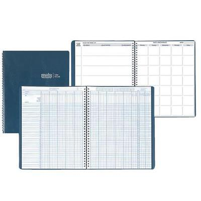 "Combination Lesson Planner and Class Record Planner Blue 8-1 2 x 11"" Set of 2 by"