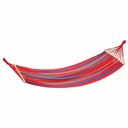 Stansport Bahamas Cotton Hammock - Single - Red - 78