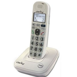 Clarity D702 DECT 6.0 Amplified Low Vision Expandable Cordless Phone with Large Font Caller ID Display