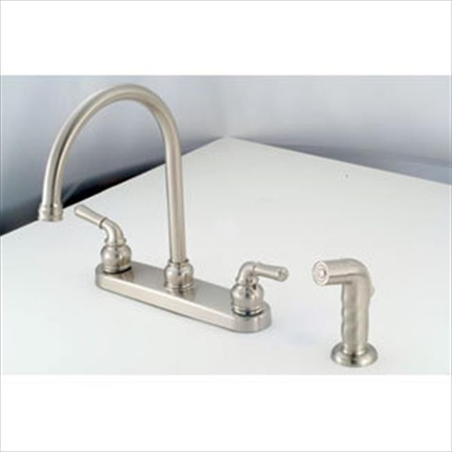 AMER BRASS NN801GSN 8 In. Brushed Nickel Kitchen Faucet