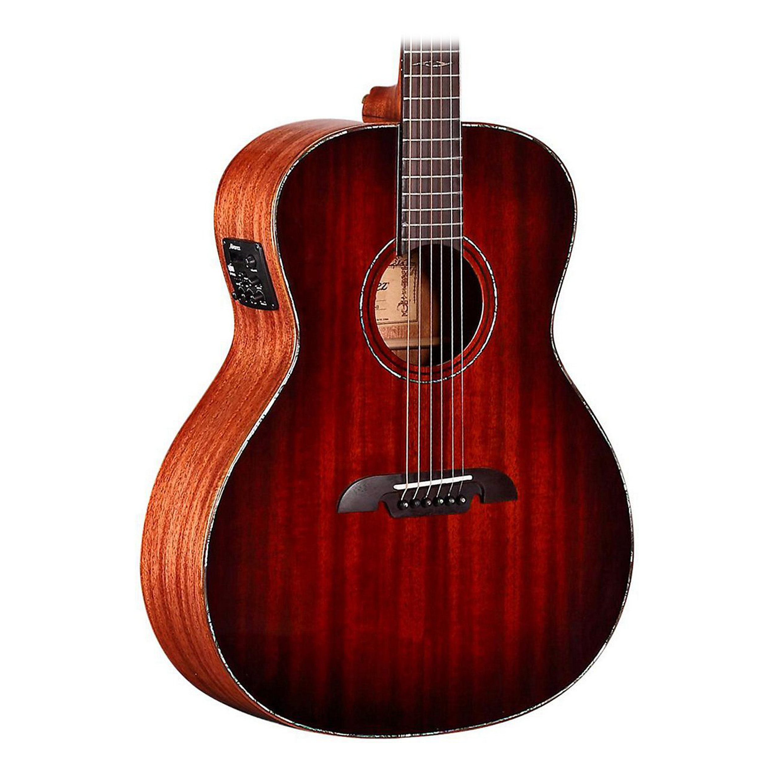Alvarez MGA66E Masterworks Grand Auditorium Acoustic-Electric Guitar Shadowburst by Alvarez