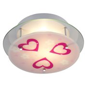 ELK Lighting Novelty Flush Mount Hearts 21002/2 - 13W in.