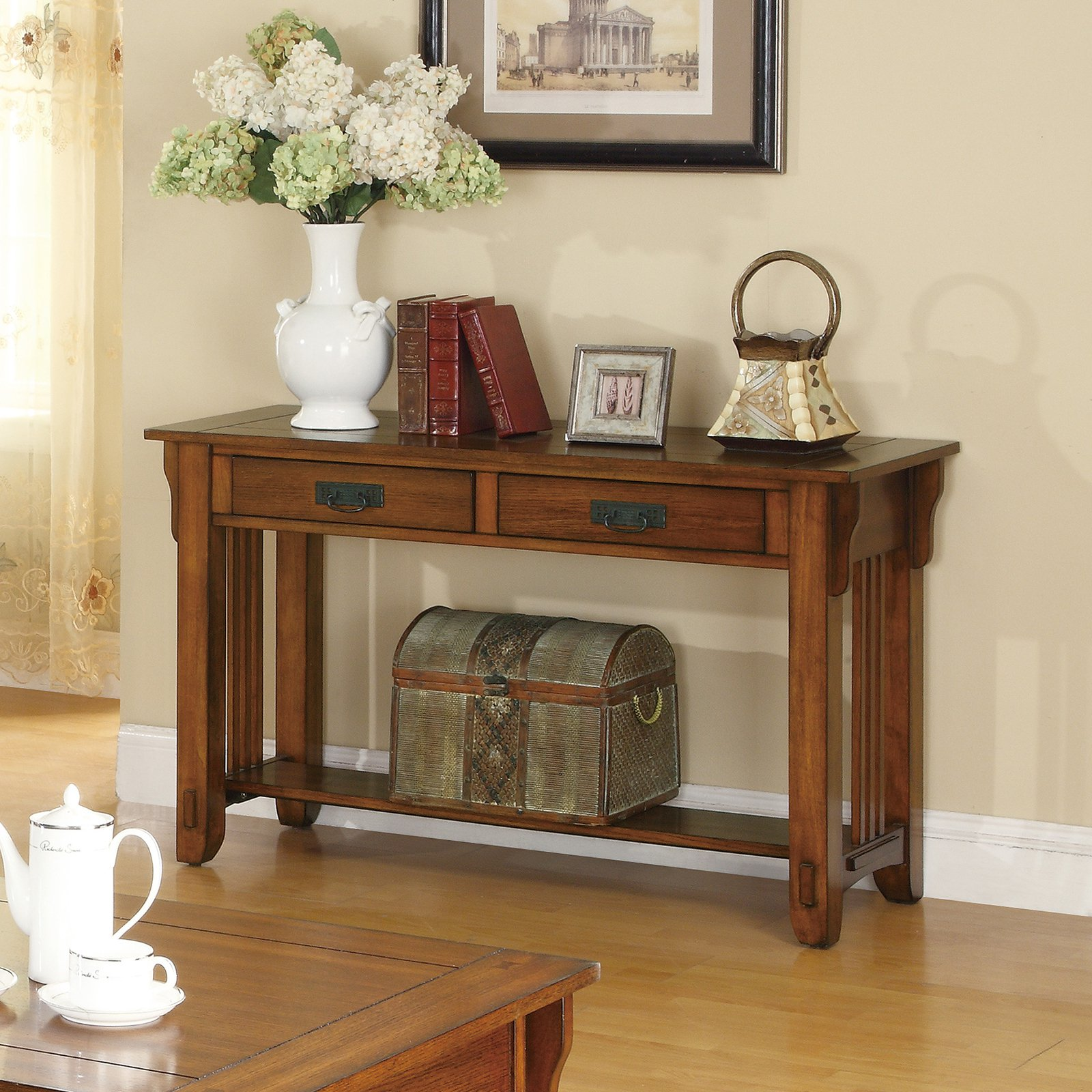 Coaster Furniture 2 Drawer Sofa Table