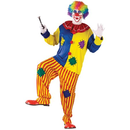 Big Top Clown Adult Halloween Costume - One Size - Costume Clown