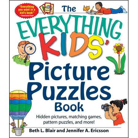The Everything Kids' Picture Puzzles Book : Hidden Pictures, Matching Games, Pattern Puzzles, and - M&m Halloween Movie Game Answers