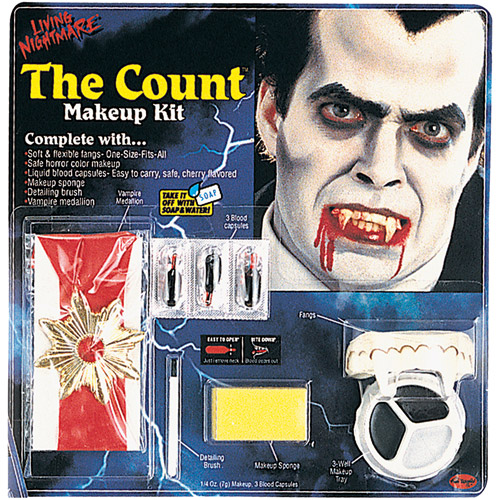 Living Nightmare Count Kit Halloween Accessory