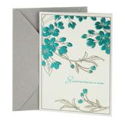Greeting cards dayspring leaf pattern sympathy greeting card m4hsunfo