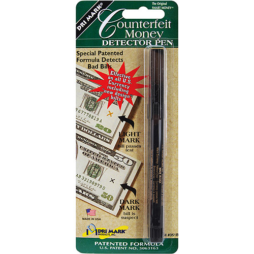 Dri-Mark Smart Money Counterfeit Bill Detector Pen for U.S. Currency