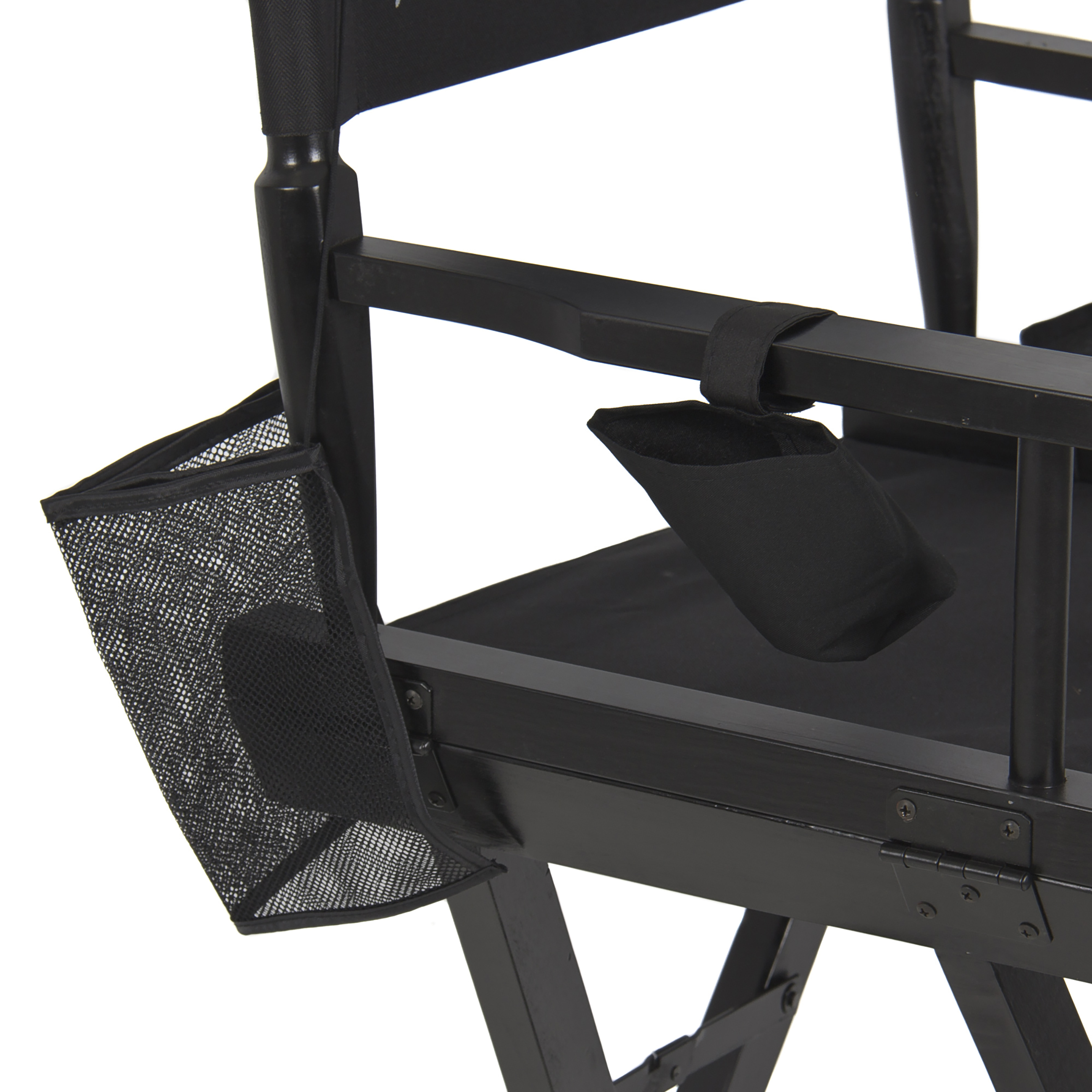 Best Choice Products Foldable Lightweight Professional Makeup Artist Directors Chair - Black - Walmart.com  sc 1 st  Walmart & Best Choice Products Foldable Lightweight Professional Makeup Artist ...