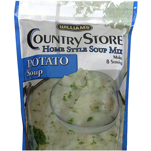 Williams Potato Soup Mix, 11 oz (Pack of 6)