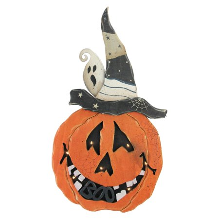 Battery Operated LED Pumpkin Halloween Decoration