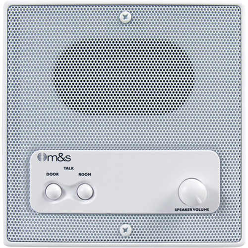 "M&S Systems 5"" Indoor Intercom Speaker"