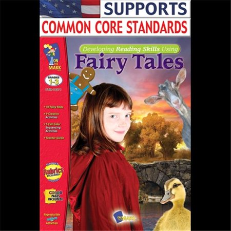 On The Mark Press OTM14271 Developing Reading Skills Using Fairytales Gr.1-3