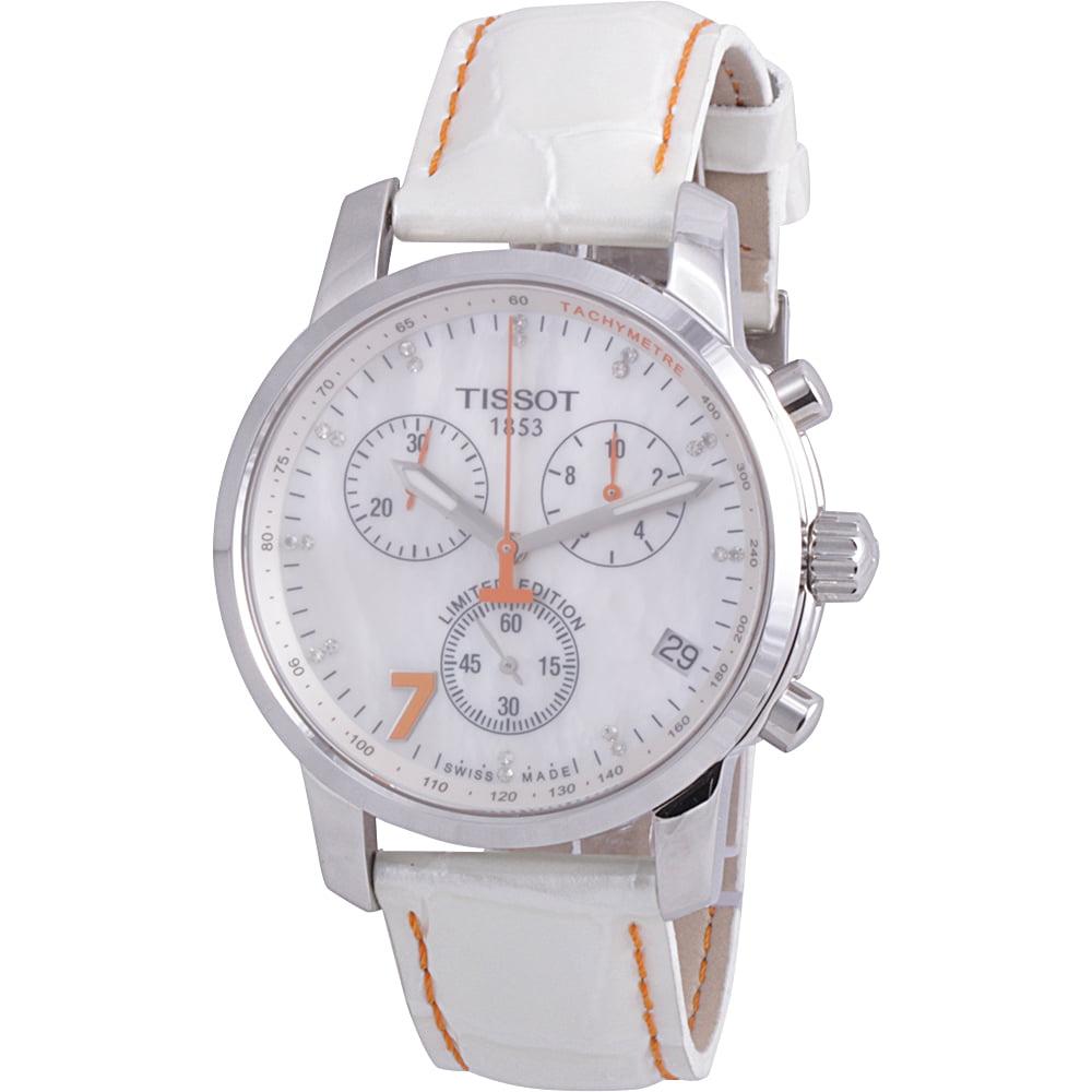 Tissot PRC 200 Danica Patrick Chronograph Diamond Ladies ...