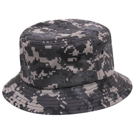 Rothco Bucket Hat - Subdued Urban Digital Camo, Large / X-Large](Camo Bucket Hats)