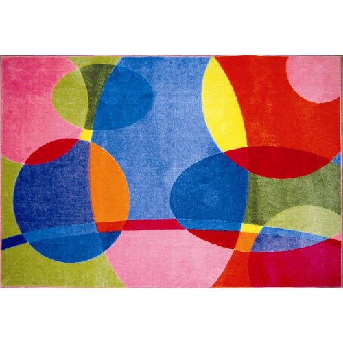 Fun Rugs Supreme Groovy Dots Area Rug