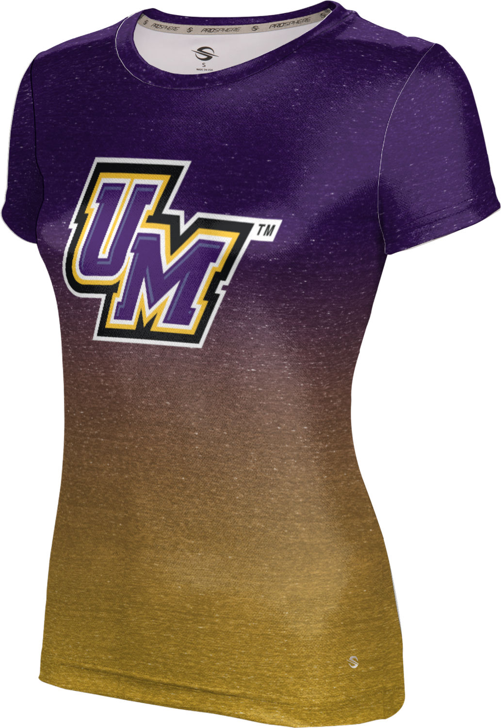 ProSphere Girls' University of Montevallo Ombre Tech Tee