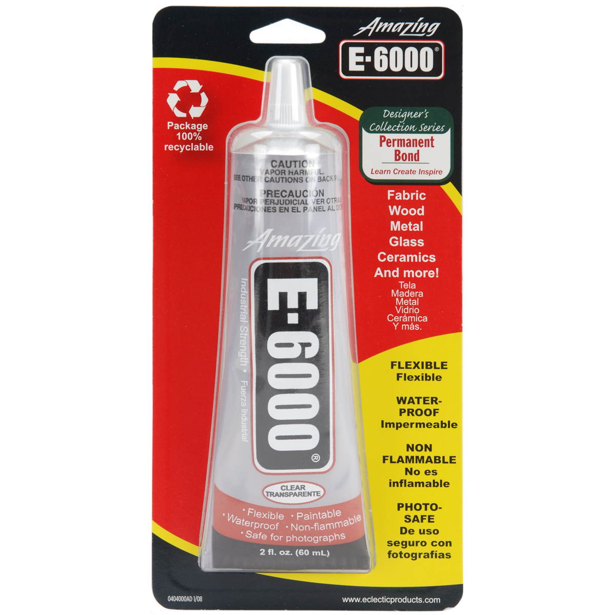Amazing E-6000 Craft Glue, 2 oz