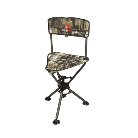 Primos Hunting Double Bull Swivel Stool, Camouflage