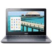 "Refurbished Acer C720-2844 11.6"" Intel Celeron 2955U Dual-Core 4GB 16GB SSD LED Chromebook"