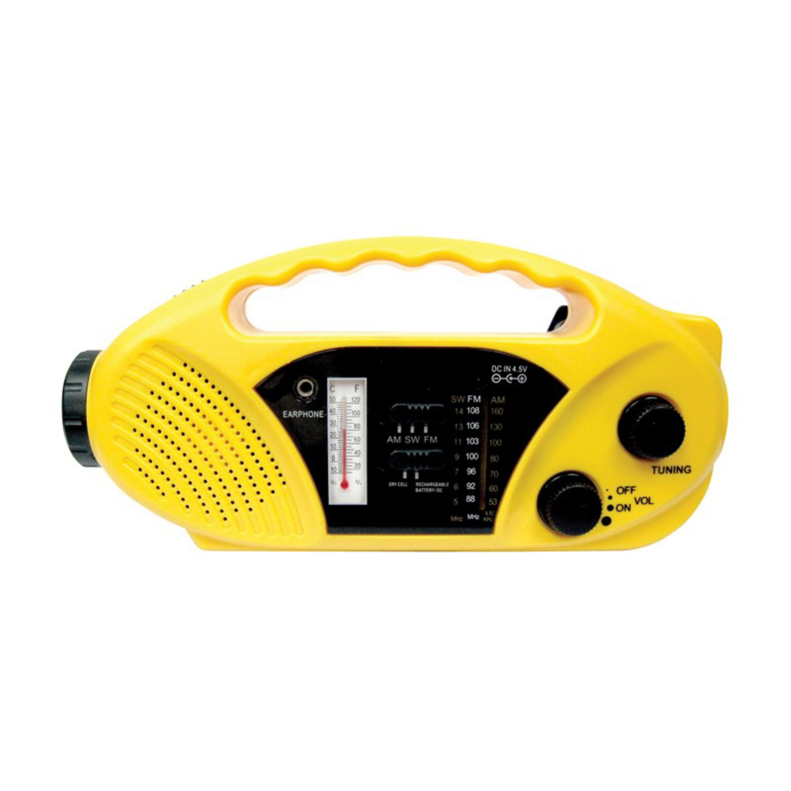 Stansport Solar Radio Flashlight by Stansport