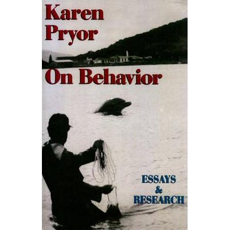 Karen Pryor on Behavior: Essays & Research by