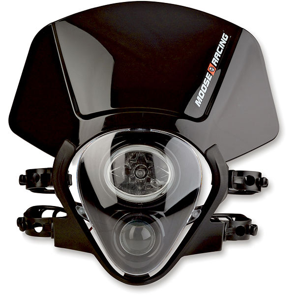 Moose Racing Species Headlight Black