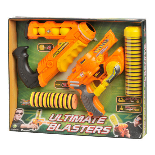 Lanard Total Air X-Stream 4 Piece Cranking Cannon and Ball Blaster Set