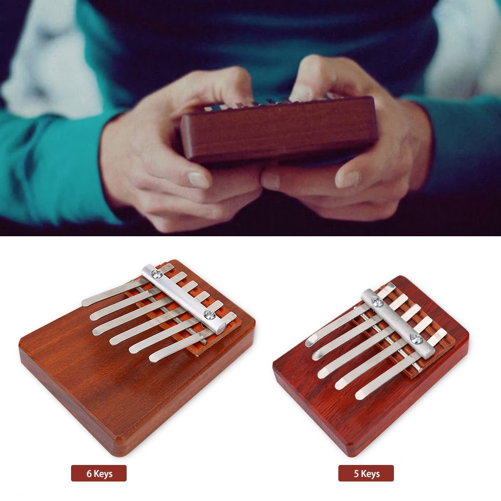 Traditional Finger Thumb Piano Size Beginners for Children Musical Instrument... by
