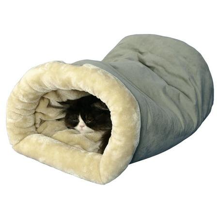 Armarkat Burrow Pet Cat Bed, Sage Green