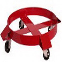 National Spencer Out-Rigger Band-Type Dolly W/ Steel Casters For 55 Gallon Drum