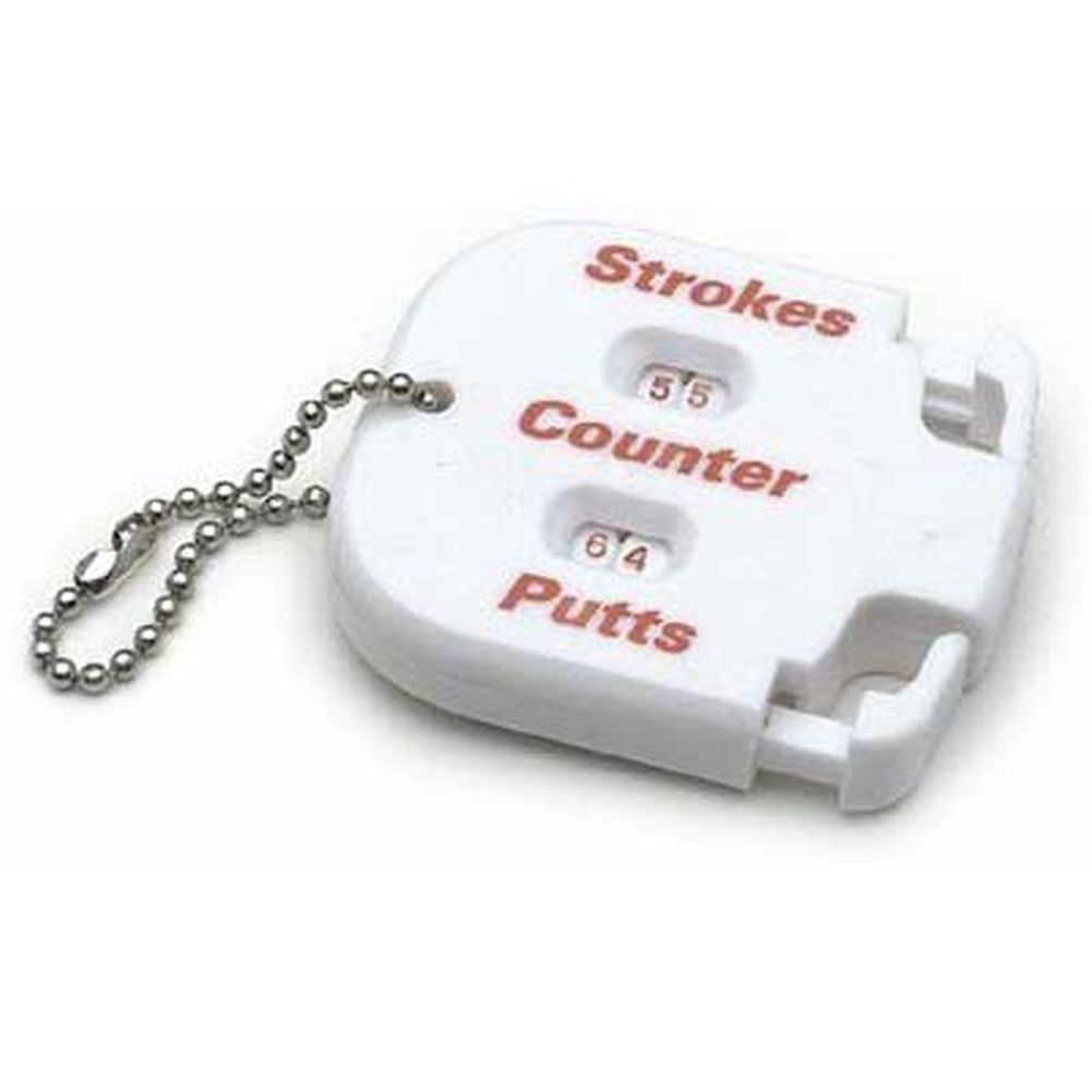 On Course Score Keeper (Stroke & Putter Counter & Chain) Accessory Golf New by On Course