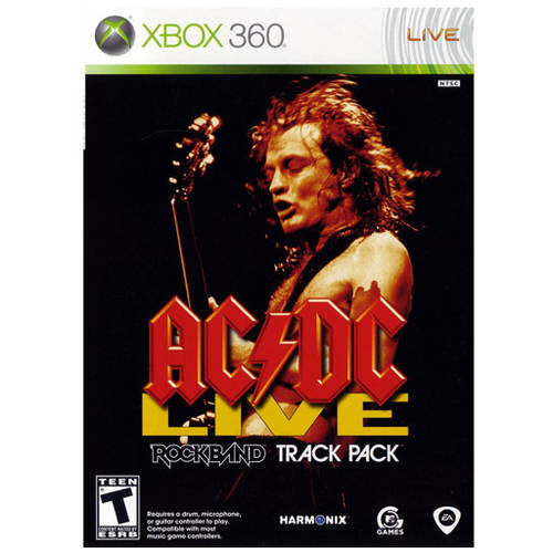 Ac/Dc Live Rock Band Track Pack (Xbox 360) - Pre-Owned