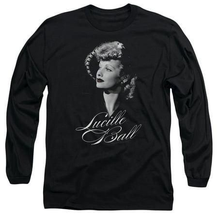 Lucille Ball Pretty Gaze Mens Long Sleeve Shirt