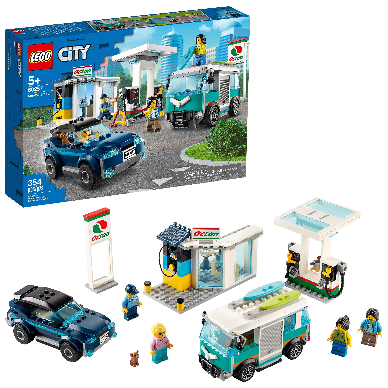 LEGO City Service Station 60257 Building Sets for Kids (354 Pieces)