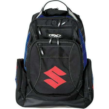 - FACTORY EFFEX-APPAREL Suzuki Backpack Block (Multi Black/Blue)