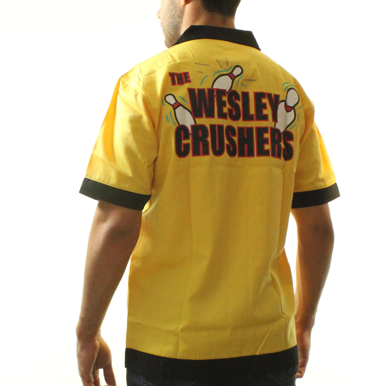 Big Bang Theory The Wesley Crushers Bowling Shirt - Walmart.com