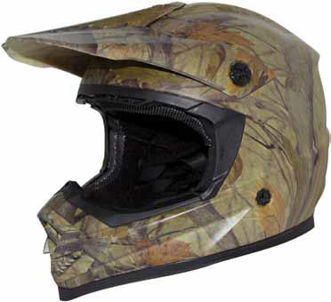 Zox Rush Solid MX Offroad Helmet Camo